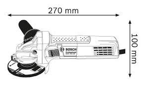 GWS 750-100 115 Size Pic