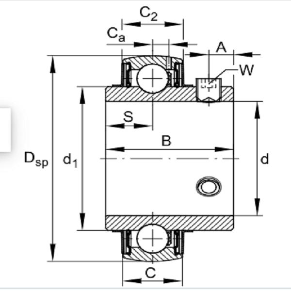 UC 207 Radial Insert Ball