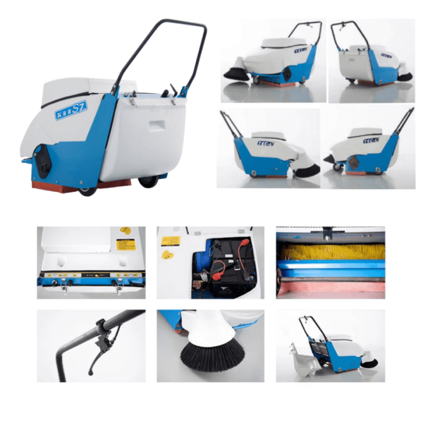 S8 ELECTRIC SWEEPER