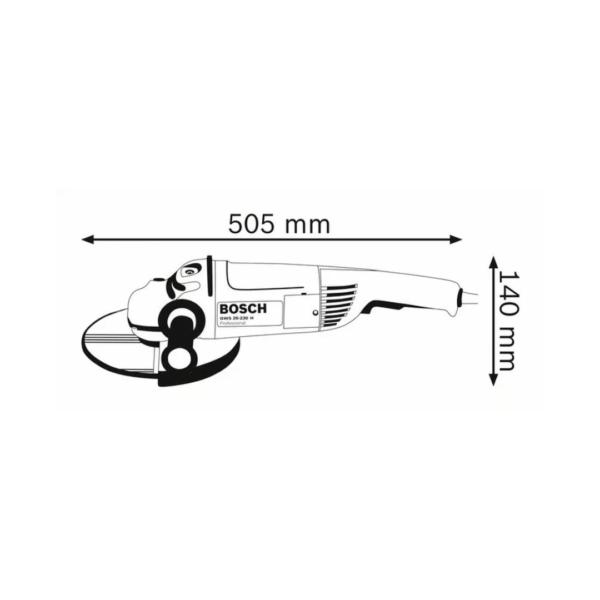 Angle GrinderGWS 26-230 H Professional