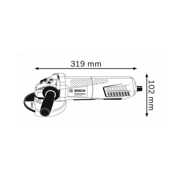 Angle GrinderGWS 11-125 P Professional